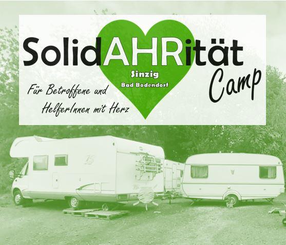 Schlafplätze in unserem SolidAHRität-Camp (Sinzig)