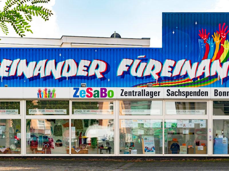 Zentrallager Sachspenden Bonn (ZeSaBo)